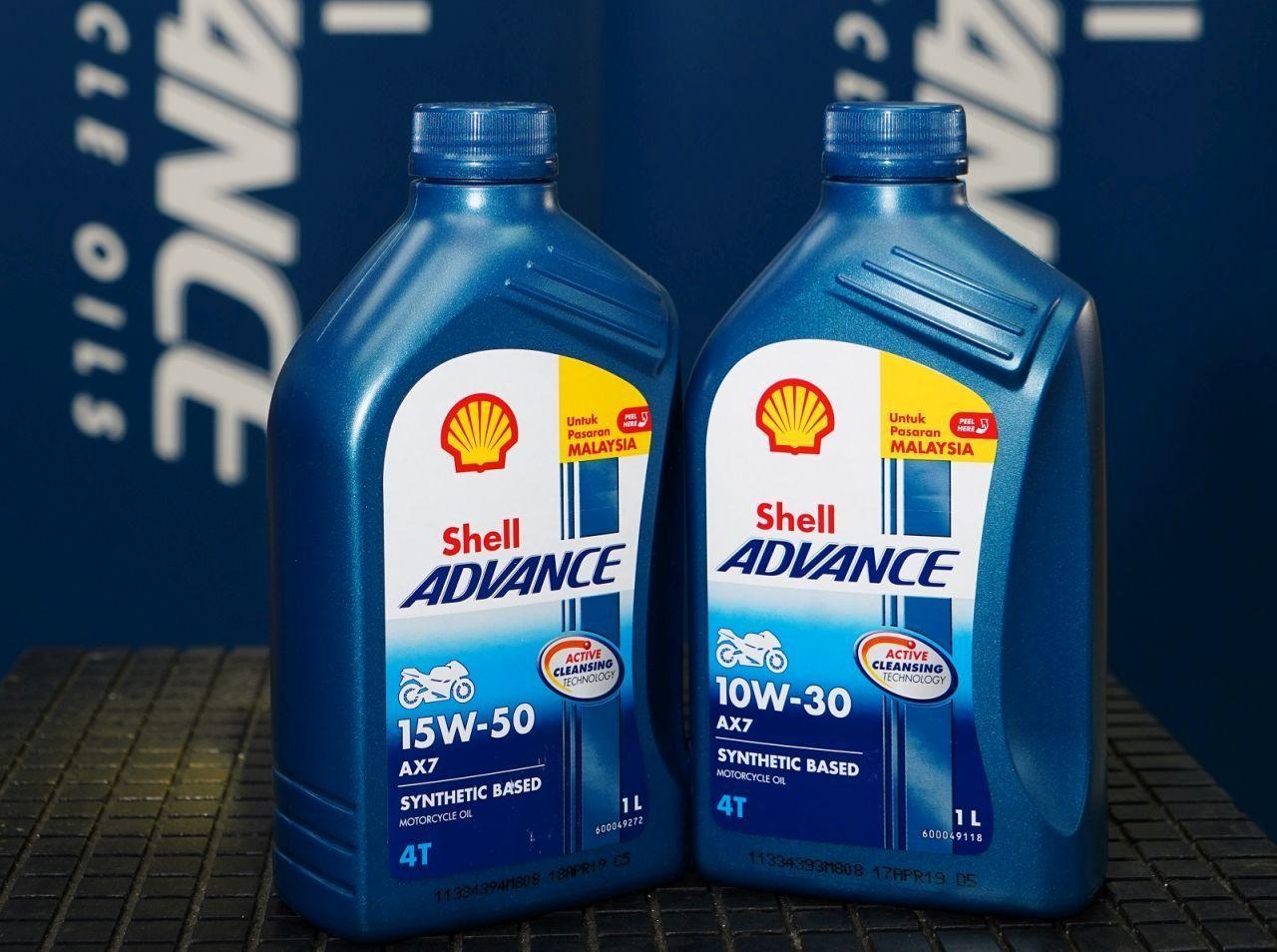 Dầu nhớt Shell Advance phù hợp cho xe máy 4 thì, 2 thì và xe tay ga