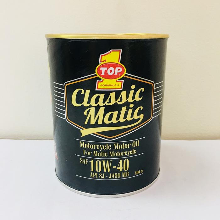 Top 1 Classic Matic 10W40 sử dụng được cho cả động cơ xăng và động cơ dầu Diesel