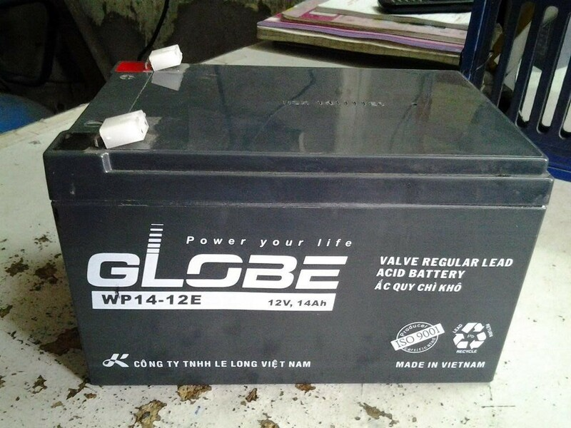 Globe là thương hiệu ắc quy Việt Nam sản xuất trên công nghệ Đài Loan