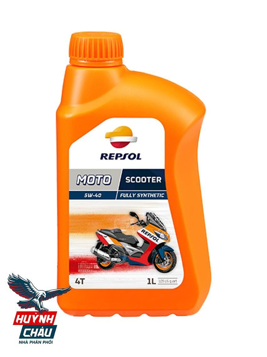 Dầu nhớt Repsol Moto Scooter 4T được bổ sung các phụ gia quan trọng