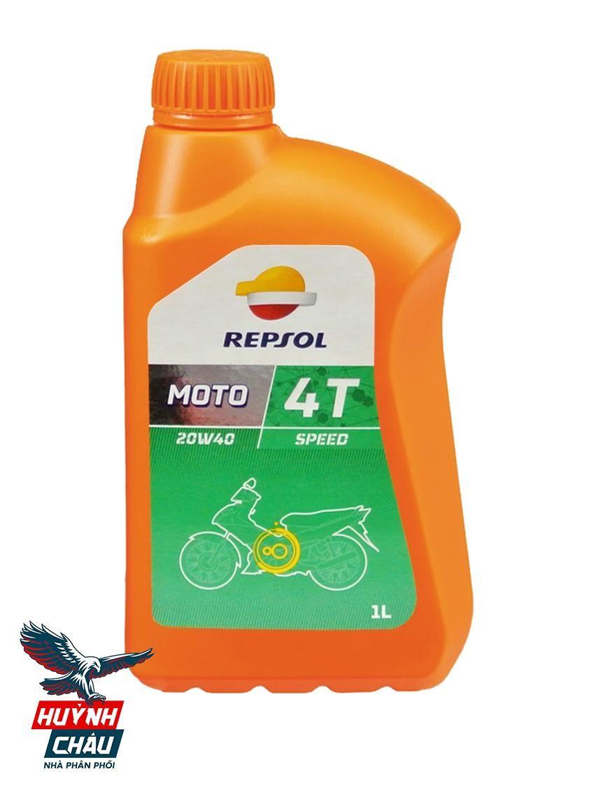 Repsol Moto Speed 4T phù hợp với các dòng xe phổ thông