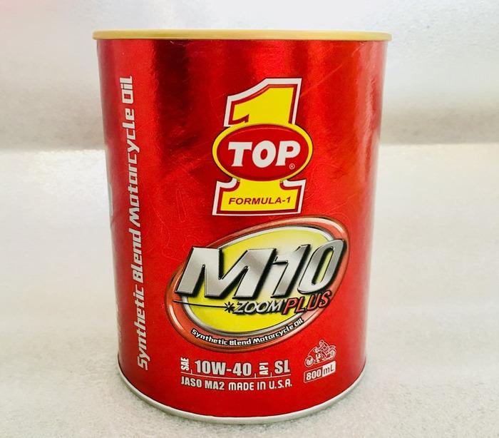 Top 1 M10 Zoom Plus 10W40 là loại dầu nhớt bán tổng hợp chất lượng cao