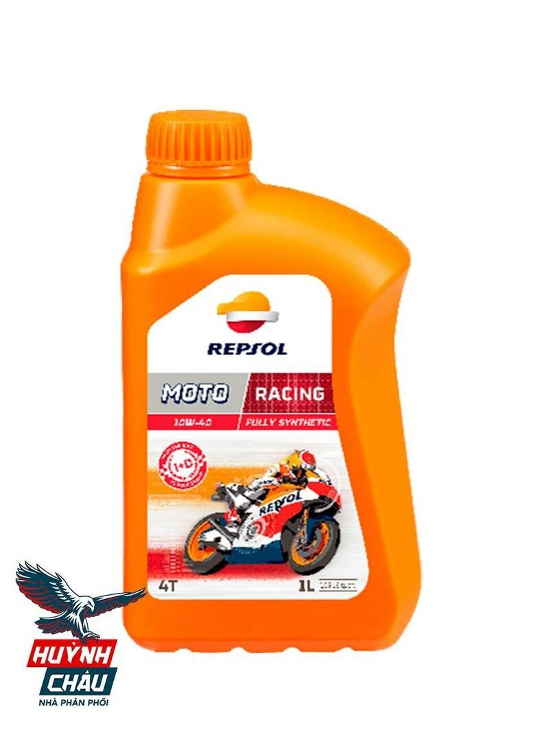 Dầu nhớt repsol Racing 4T 10W40 là dầu nhớt cao cấp cho xe Winner