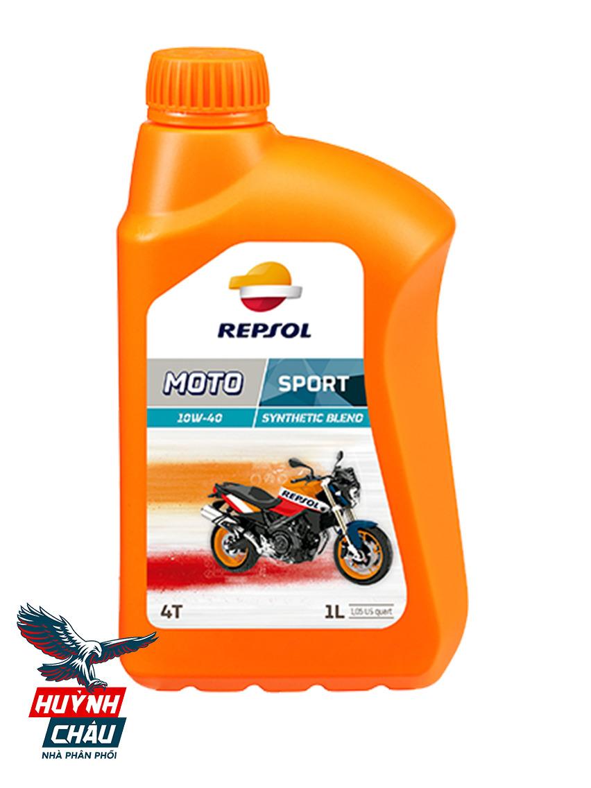 Repsol Sport 10W40 là dầu nhớt cho xe số chất lượng và rất được ưa chuộng tại Việt Nam