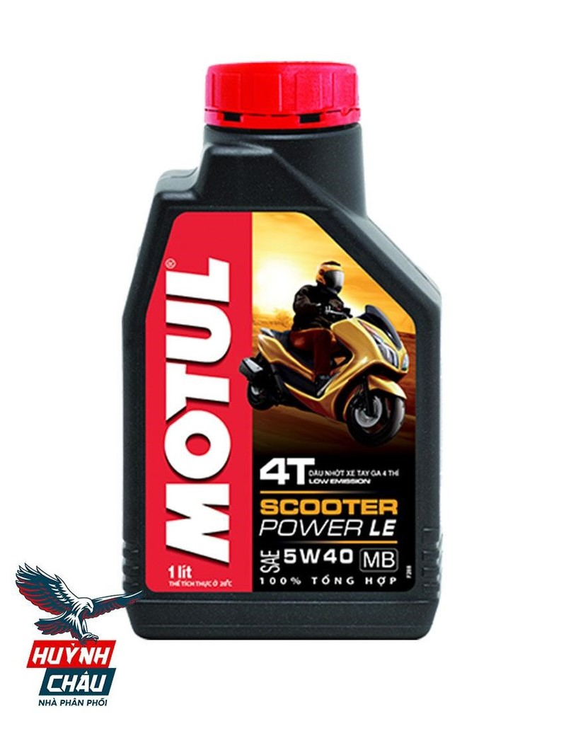 Motul Scooter Power LE dầu nhớt nổi tiếng cho xe tay ga