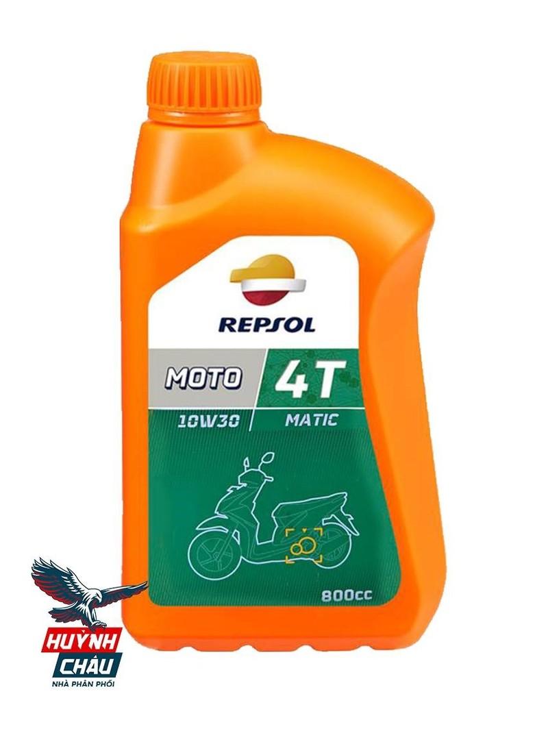 Repsol luôn là sự lựa chọn để tăng độ bốc cho xe tay ga