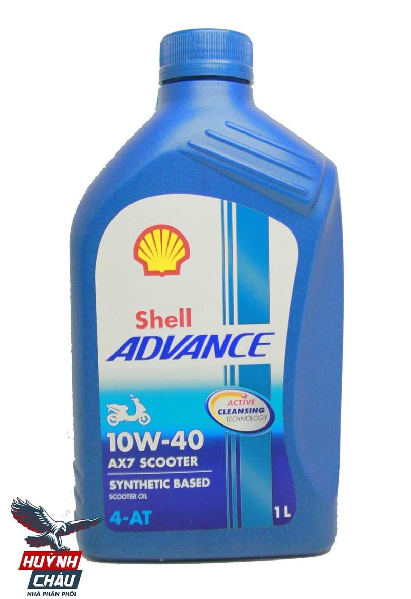 Shell Advance AX7 Scooter tăng tốc êm ái, bôi trơn hoàn hảo