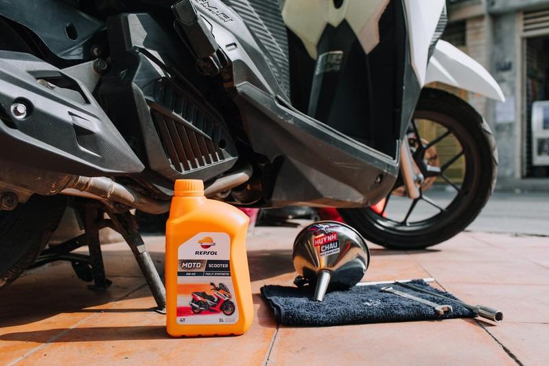 Repsol Moto Scooter phù hợp với các dòng xe ga