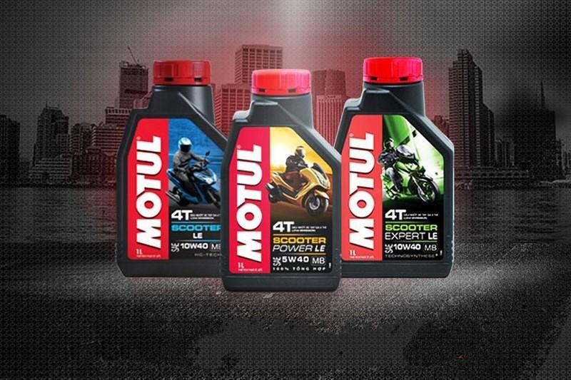 Thương hiệu Motul cung cấp nhiều loại dầu nhớt chuyên dụng