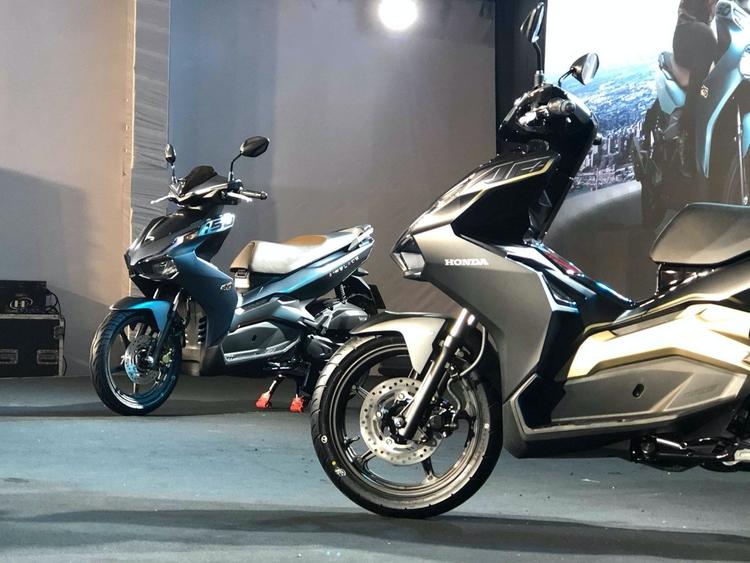 AirBlade 2020 có 2 phiên bản 150cc và 125cc với kích thước vành khác nhau