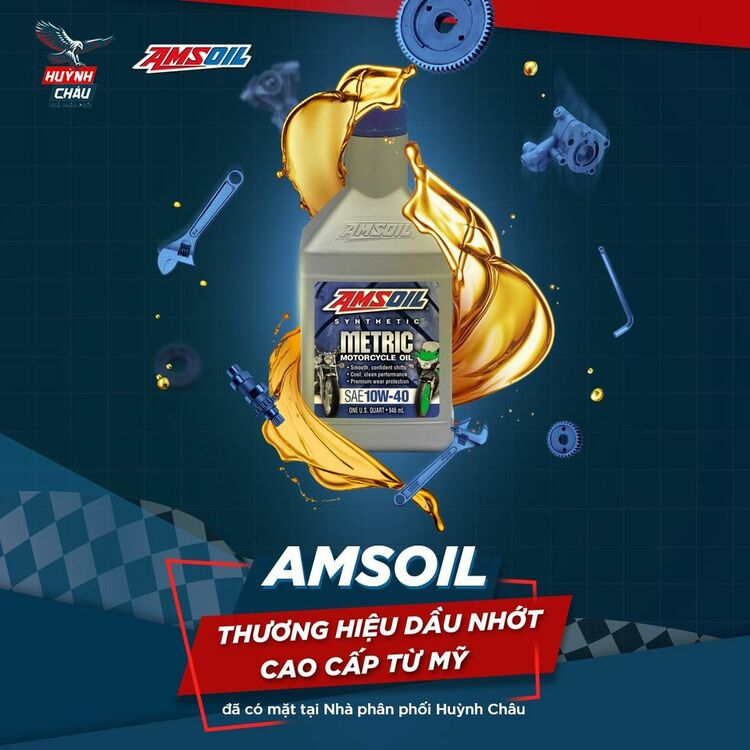 Dầu nhớt Amsoil đạt nhiều tiêu chuẩn quốc tế về chất lượng