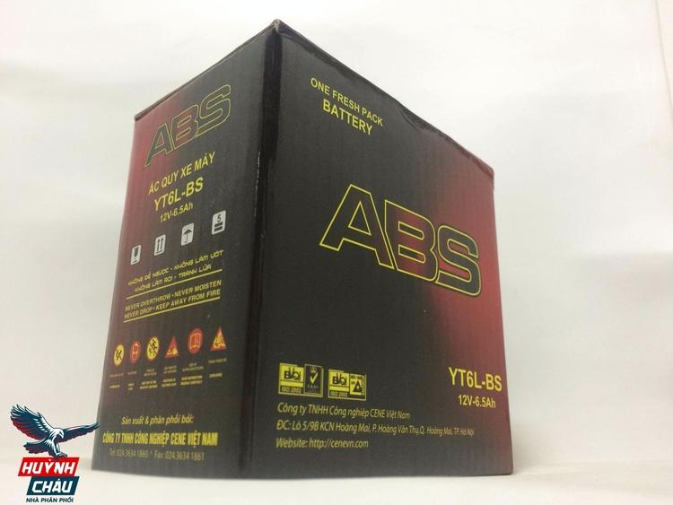 Bình ắc quy cho xe máy ABS có chất lượng cao, giá cả phải chăng