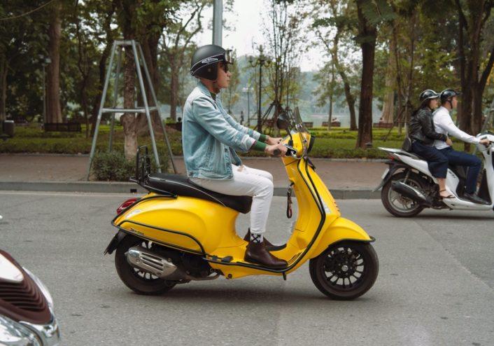 Xe tay ga cần sử dụng nhớt chuyên dụng để đảm bảo bôi trơn hiệu quả