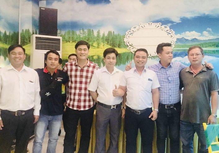 Cuộc họp ký kết hợp tác giữa đại diện Huỳnh Châu và Hải Dương Ngô Gia